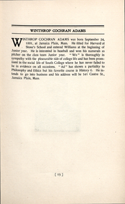 Page 13, 1902 Edition, Williams College - Gulielmensian Yearbook (Williamstown, MA) online yearbook collection