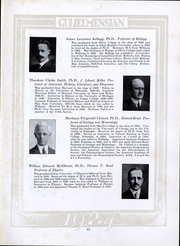 Page 14, 1924 Edition, Williams College - Gulielmensian Yearbook (Williamstown, MA) online yearbook collection