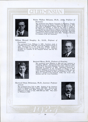 Page 17, 1924 Edition, Williams College - Gulielmensian Yearbook (Williamstown, MA) online yearbook collection