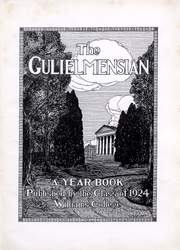 Page 2, 1924 Edition, Williams College - Gulielmensian Yearbook (Williamstown, MA) online yearbook collection