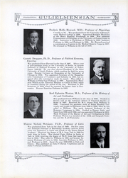Page 17, 1926 Edition, Williams College - Gulielmensian Yearbook (Williamstown, MA) online yearbook collection
