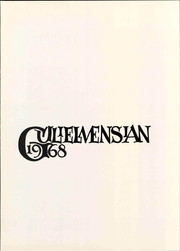 Page 3, 1968 Edition, Williams College - Gulielmensian Yearbook (Williamstown, MA) online yearbook collection