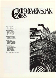 Page 4, 1968 Edition, Williams College - Gulielmensian Yearbook (Williamstown, MA) online yearbook collection