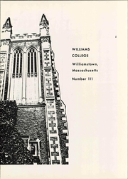 Page 5, 1968 Edition, Williams College - Gulielmensian Yearbook (Williamstown, MA) online yearbook collection