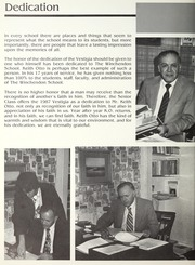 Page 10, 1987 Edition, Winchendon School - Vestigia Yearbook (Winchendon, MA) online yearbook collection