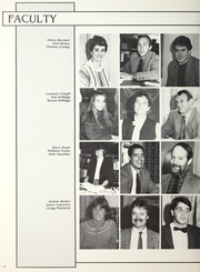 Page 14, 1987 Edition, Winchendon School - Vestigia Yearbook (Winchendon, MA) online yearbook collection