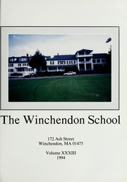 Page 5, 1994 Edition, Winchendon School - Vestigia Yearbook (Winchendon, MA) online yearbook collection
