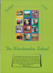 Page 5, 2009 Edition, Winchendon School - Vestigia Yearbook (Winchendon, MA) online yearbook collection