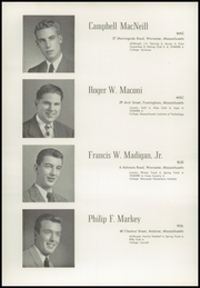 Page 36, 1949 Edition, Worcester Academy - Towers Yearbook (Worcester, MA) online yearbook collection