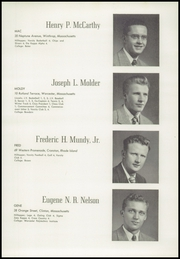 Page 37, 1949 Edition, Worcester Academy - Towers Yearbook (Worcester, MA) online yearbook collection