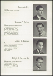 Page 39, 1949 Edition, Worcester Academy - Towers Yearbook (Worcester, MA) online yearbook collection