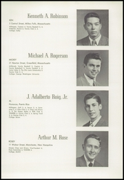 Page 41, 1949 Edition, Worcester Academy - Towers Yearbook (Worcester, MA) online yearbook collection