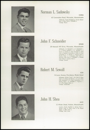 Page 42, 1949 Edition, Worcester Academy - Towers Yearbook (Worcester, MA) online yearbook collection