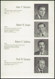 Page 43, 1949 Edition, Worcester Academy - Towers Yearbook (Worcester, MA) online yearbook collection