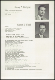 Page 47, 1949 Edition, Worcester Academy - Towers Yearbook (Worcester, MA) online yearbook collection