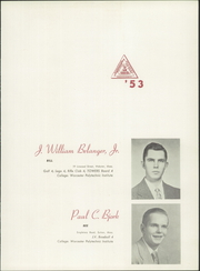 Page 17, 1953 Edition, Worcester Academy - Towers Yearbook (Worcester, MA) online yearbook collection