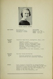 Page 13, 1938 Edition, Bay Path College - Portico Yearbook (Longmeadow, MA) online yearbook collection
