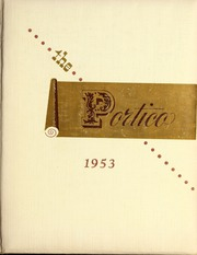 Page 1, 1953 Edition, Bay Path College - Portico Yearbook (Longmeadow, MA) online yearbook collection