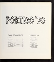 Page 11, 1970 Edition, Bay Path College - Portico Yearbook (Longmeadow, MA) online yearbook collection