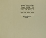 Page 5, 1906 Edition, Abbot Academy - Circle Yearbook (Andover, MA) online yearbook collection