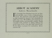 Page 52, 1911 Edition, Abbot Academy - Circle Yearbook (Andover, MA) online yearbook collection