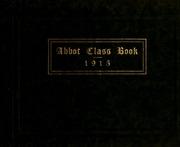Page 1, 1915 Edition, Abbot Academy - Circle Yearbook (Andover, MA) online yearbook collection