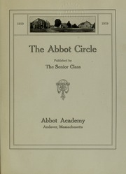 Page 5, 1919 Edition, Abbot Academy - Circle Yearbook (Andover, MA) online yearbook collection