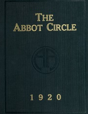Abbot Academy - Circle Yearbook (Andover, MA) online yearbook collection, 1920 Edition, Page 1