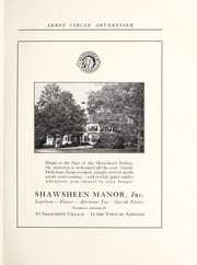 Page 111, 1922 Edition, Abbot Academy - Circle Yearbook (Andover, MA) online yearbook collection