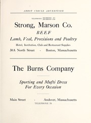 Page 115, 1922 Edition, Abbot Academy - Circle Yearbook (Andover, MA) online yearbook collection