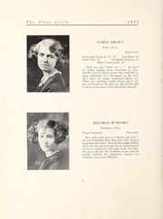 Page 14, 1922 Edition, Abbot Academy - Circle Yearbook (Andover, MA) online yearbook collection
