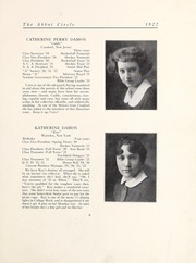 Page 15, 1922 Edition, Abbot Academy - Circle Yearbook (Andover, MA) online yearbook collection