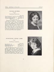 Page 23, 1922 Edition, Abbot Academy - Circle Yearbook (Andover, MA) online yearbook collection