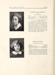 Page 24, 1922 Edition, Abbot Academy - Circle Yearbook (Andover, MA) online yearbook collection