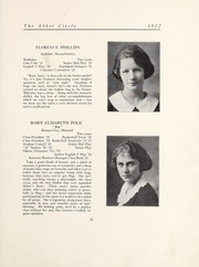 Page 27, 1922 Edition, Abbot Academy - Circle Yearbook (Andover, MA) online yearbook collection