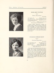 Page 28, 1922 Edition, Abbot Academy - Circle Yearbook (Andover, MA) online yearbook collection