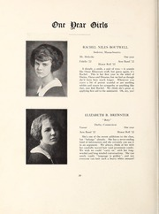 Page 36, 1922 Edition, Abbot Academy - Circle Yearbook (Andover, MA) online yearbook collection