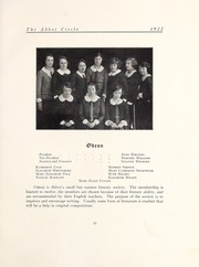 Page 67, 1922 Edition, Abbot Academy - Circle Yearbook (Andover, MA) online yearbook collection