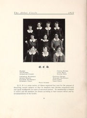 Page 68, 1922 Edition, Abbot Academy - Circle Yearbook (Andover, MA) online yearbook collection