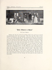 Page 85, 1922 Edition, Abbot Academy - Circle Yearbook (Andover, MA) online yearbook collection
