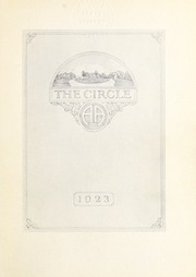 Page 5, 1923 Edition, Abbot Academy - Circle Yearbook (Andover, MA) online yearbook collection