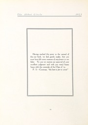 Page 88, 1923 Edition, Abbot Academy - Circle Yearbook (Andover, MA) online yearbook collection