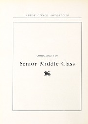 Page 92, 1923 Edition, Abbot Academy - Circle Yearbook (Andover, MA) online yearbook collection