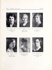 Page 15, 1924 Edition, Abbot Academy - Circle Yearbook (Andover, MA) online yearbook collection