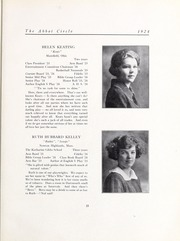 Page 33, 1924 Edition, Abbot Academy - Circle Yearbook (Andover, MA) online yearbook collection
