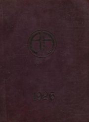 Abbot Academy - Circle Yearbook (Andover, MA) online yearbook collection, 1926 Edition, Page 1
