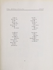 Page 111, 1927 Edition, Abbot Academy - Circle Yearbook (Andover, MA) online yearbook collection