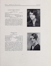 Page 17, 1928 Edition, Abbot Academy - Circle Yearbook (Andover, MA) online yearbook collection