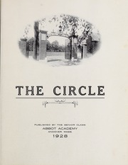 Page 5, 1928 Edition, Abbot Academy - Circle Yearbook (Andover, MA) online yearbook collection