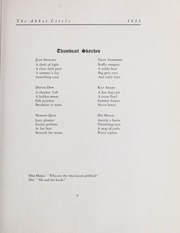 Page 67, 1928 Edition, Abbot Academy - Circle Yearbook (Andover, MA) online yearbook collection